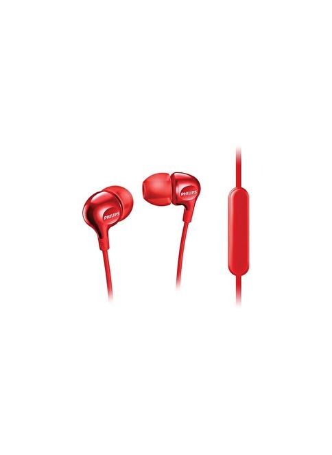 Philips SHE3705WT Kulakiçi Mikrofonlu Kulaklık Kırmızı